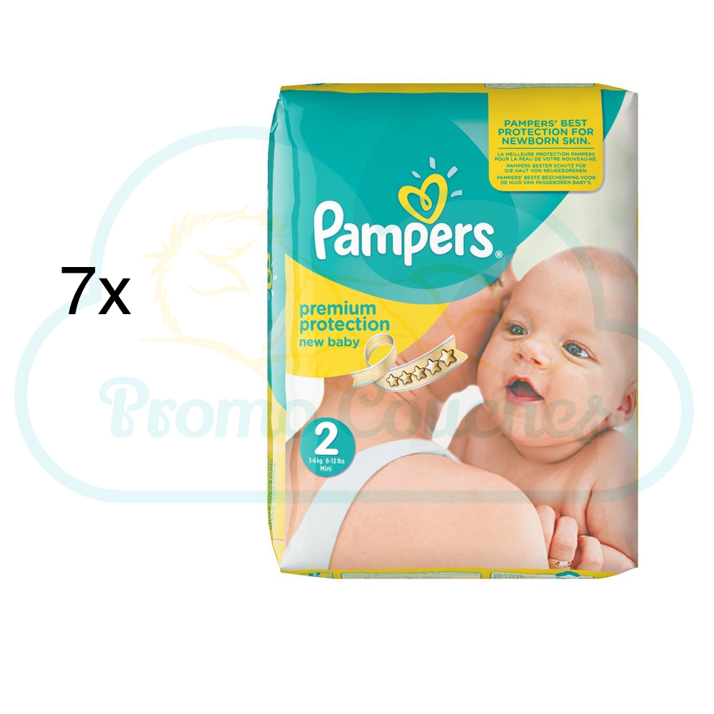 Coupons reduction couches pampers new baby taille 1