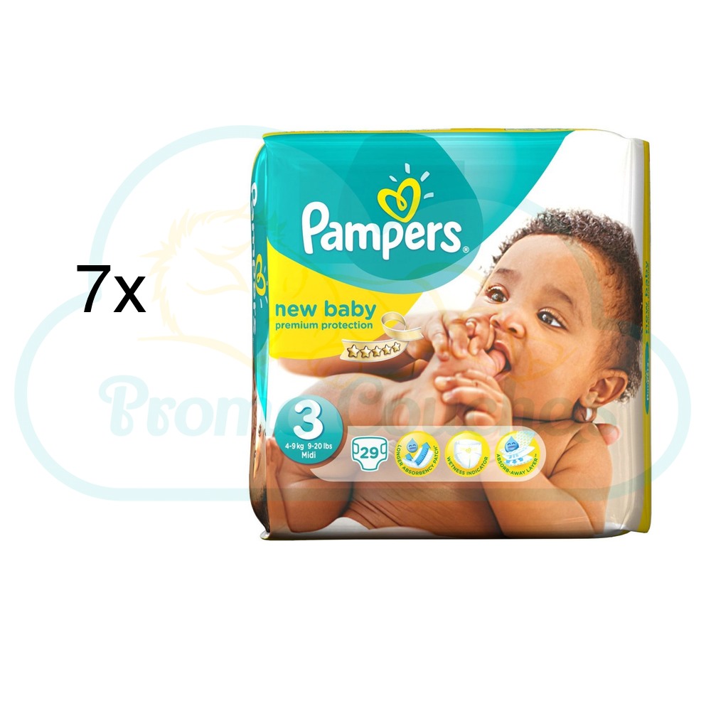 Couches moins ch res pampers premium care taille 2 promo couches - Promo couche pampers auchan ...